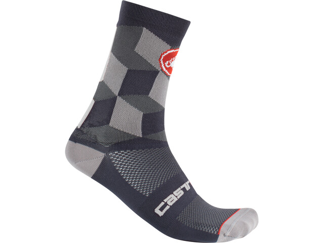 Castelli Unlimited 15 Calcetines, dark gray